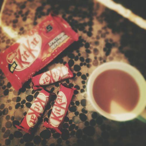 The EyeEm Breakfast Club Kitkat & Coffe ! Kitkat