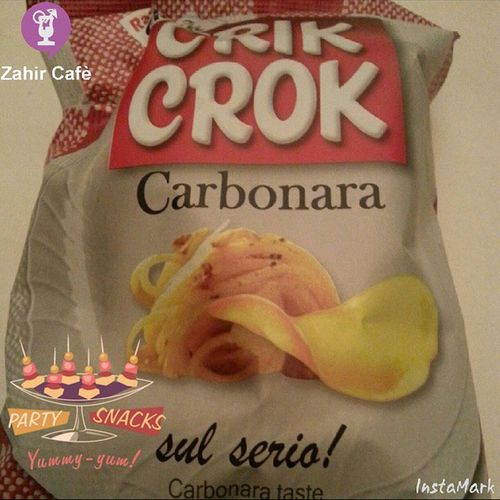 Buoniii! Patatine Crikcrok Carbonara Pappatime friends instamoment night