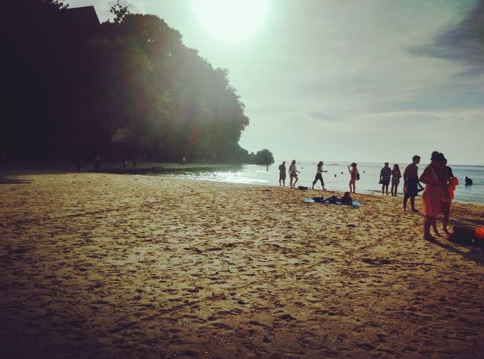 Sunset at padangpadang beach bali People Outdoors Beach Nature Large Group Of People Day First Eyeem Photo