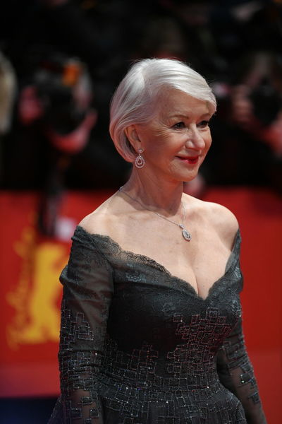 Berlin, Germany - February 15, 2018: English actress Helen Mirren on the red carpet at the 68th Berlinale International Film Festival premiere of the movie ´Isle Of Dogs´ Actor Event Famous Film Festival Photocall Press The Media Arts Culture And Entertainment Berlinale Berlinale 2018 Berlinale2018 Entertainment Film Industry Gala Helen Mirren Mass Media One Person Pose Posing Press Conference Red Carpet Red Carpet Event