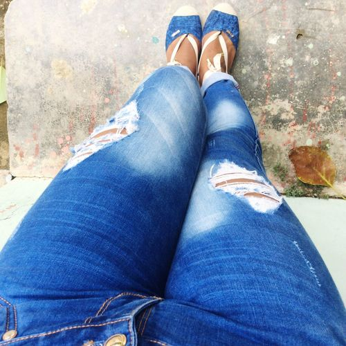 Bluse Jeans