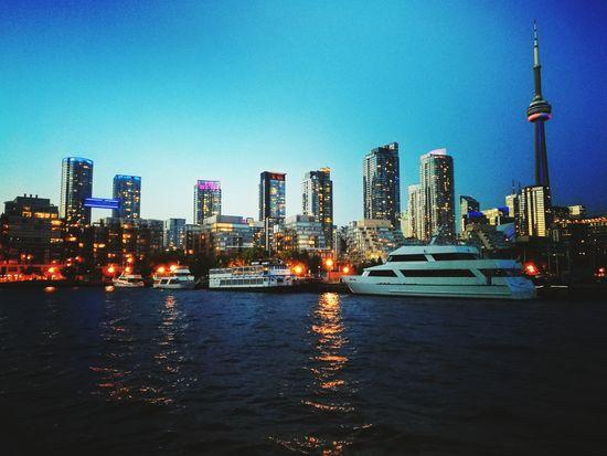 Canada Toronto The City Light