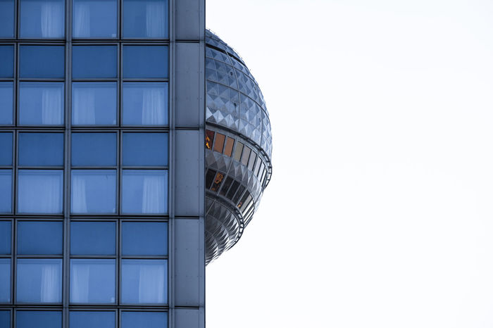 Tvtower Berlin Photography Berlin-Architecture Fernsehturm Berlin  Minimalist Architecture Berliner Ansichten Berlinmalism Building Exterior Built Structure Clear Sky Fujix_berlin Fujixe3 Fujixseries Minimalism Minimalistic No People Ralfpollack_fotografie The Architect - 2018 EyeEm Awards 10