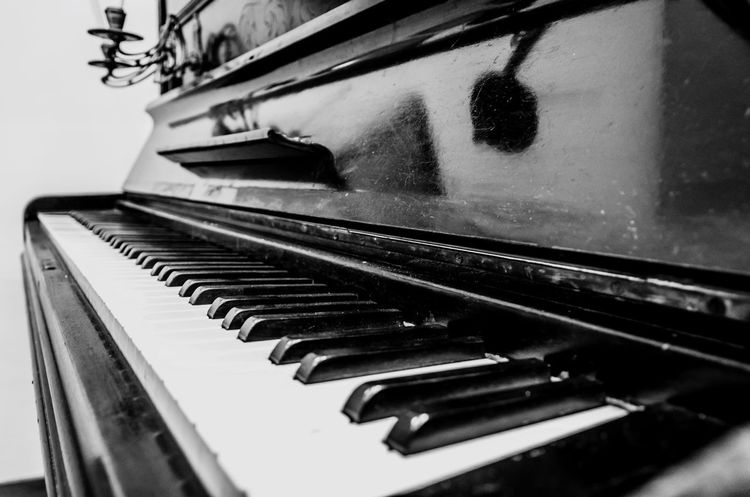 Pianoforte Piano Music Piano Key Musical Instrument Close-up Arts Culture And Entertainment Indoors  Day No People