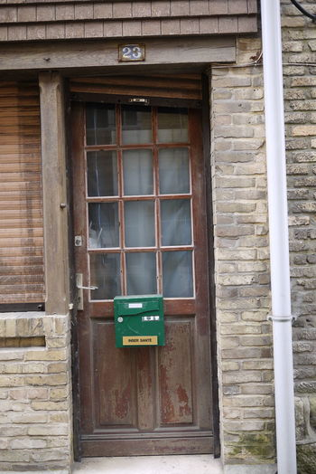 23 Architecture Building Exterior Dieppe Door Entrance France No People Outdoors Wooden