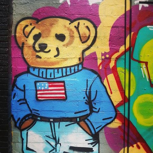 Houston Montrose Gayborhood Texas Urbanjungle Mural Streetart Summer2015 Pimpteddybear Teddybear Westheimer