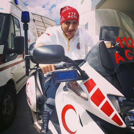 112 Acil Emergency Firstresponder Ambulance Ambulans Working Kayseri Turkey Türkiye