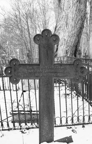 The old metal cross in the cemetery in the winter Burial Cemetery Christian Cross Death Gates German Language Grave Grief Horror Memorial Spirituality Winter Abandoned Cold Cross Dead Funeral History Monument No People Outdoors Religion Spooky Tombstone