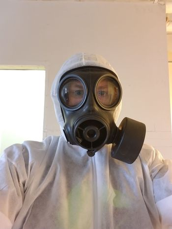 Gas Mask Protective Mask - Workwear Protective Workwear Safety Danger Protection Looking At Camera Occupational Safety And Health Close-up