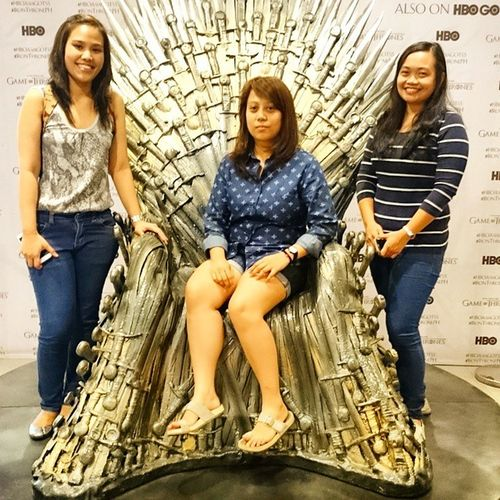 THE IRON THRONE. I'm saving it for Thr Starks. NODEADSTARKS Got