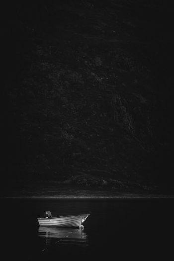 Too Late...   Boat Darkness Fjord Fjordsofnorway Norway Blackandwhite Mountains Nature Nature_collection Nature Photography Naturelovers Moody Moodygrams Black Lost EyeEm Best Shots Eye4photography  EyeEm Gallery EyeEm Nature Lover EyeEm Best Edits EyeEm Masterclass EyeEmBestPics Eyeemphotography EyeEm Scandinavia