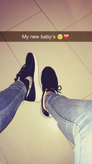 Nike Happy My New Babys