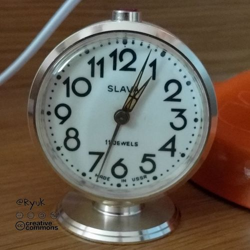 Time Clock Clock Face Old-fashioned No People Indoors  Streamzoofamily TheVille Russian Watch Old Time Mechanical Watch Made In USSR