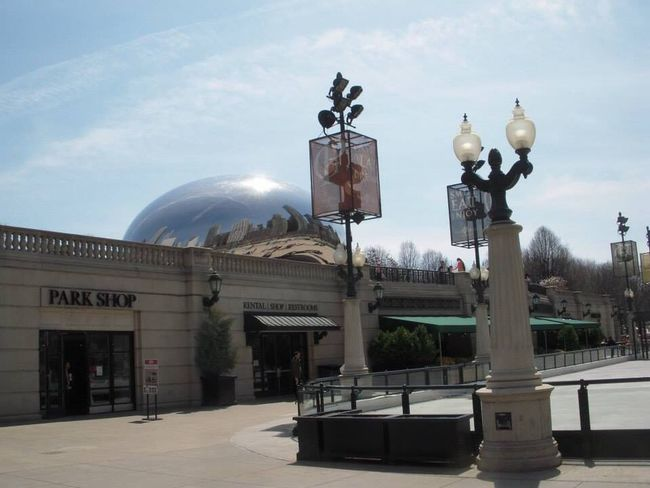 Architecture Built Structure Sky Building Exterior Street Light Day Outdoors Dome No People Millennium Park Cloud Gate Chicago
