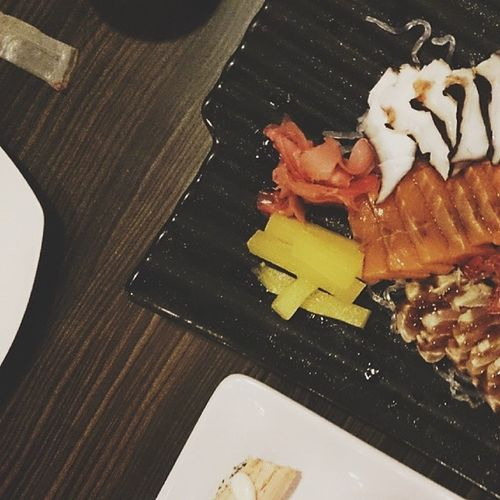 Raw is good. Japanese  Food GenjiM VSCO vscocam strong random picfx makati genji japan