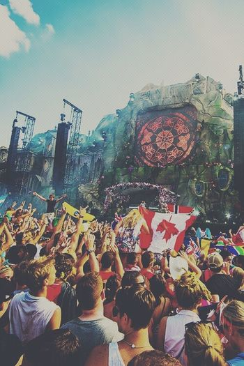 one day ? Party Tomorrowland Rave Fantasy