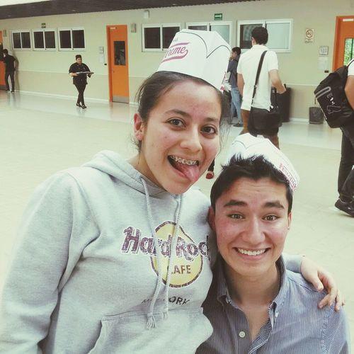 Ich mit Nellybebé Leute Krispy Kreme Donuts Verkauf