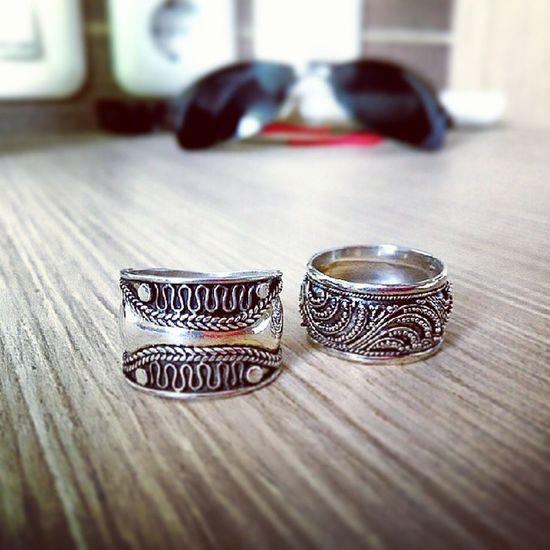 Silver  Ring from Sukawati Art Traditional Market Denpasar Bali Indonesia Ethnic Jewelry FadeyJevera ??