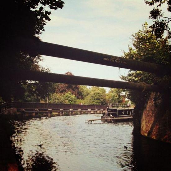 Hertford Canal Barge