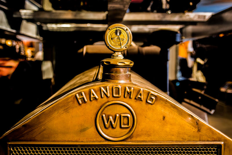 Close-up Detail Focus On Foreground Hanomag Indoors  Metal Motorcar Radiator Old-fashioned Selective Focus Technology Tractor