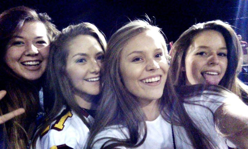 There pretty cute🔥❤ 2016♡ Senior Year Washington State Eastern Washington Football Season Jersey Girl 12