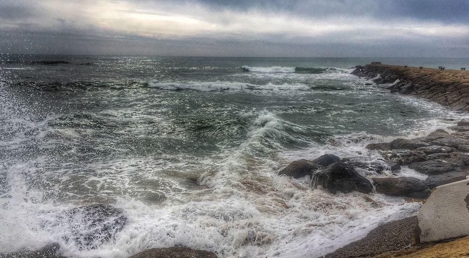 Rough Sea in Rota SPAIN