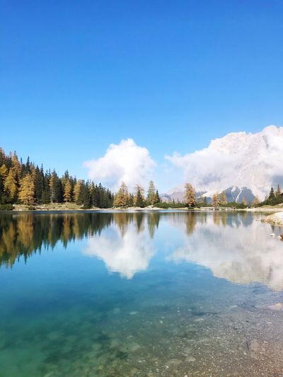 High 1600m Reflection Water Sky Lake Tranquility Tree A New Beginning Beauty In Nature EyeEmNewHere
