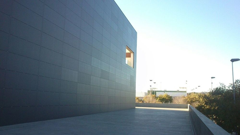 Architecture Tiles Grey Arquitectura Uji Urbanism Castelló De La Plana Gris Ceramics Gres Taulell