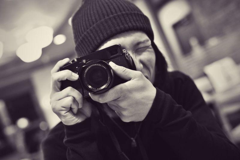 Friend & X-Pro1 Nikon Df AF-S NIKKOR 50mm F /1.8G SE