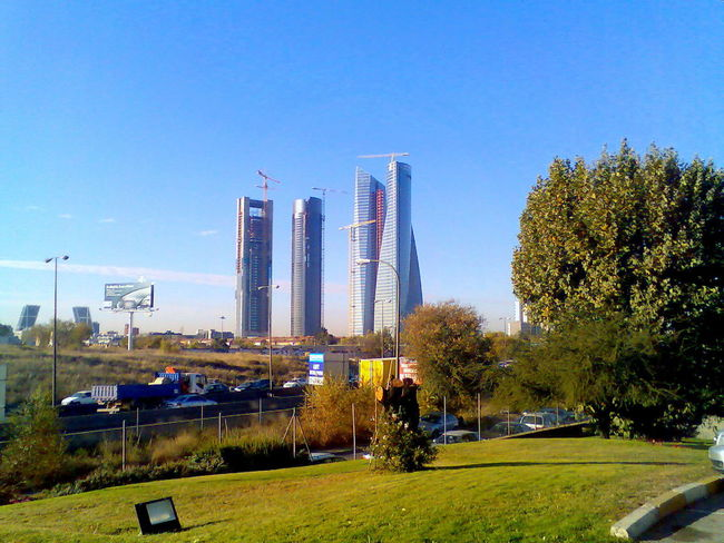 4 Torres Madrid Spain Built Structure Capital Cities  City City Life Development Engineering Tower