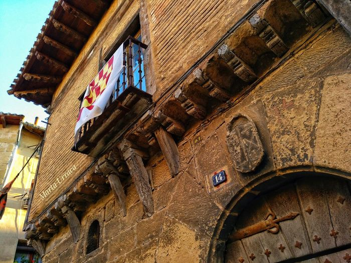 La Rioja Briones  Rioja Alta Architecture Close-up Built Structure Building Exterior Historic Historic Building Archway The Past History