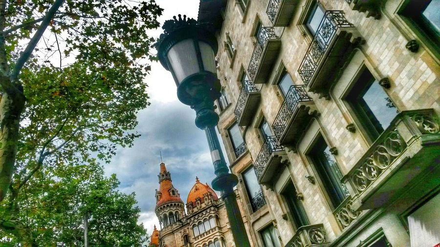 Low Angle View Travel Destinations City No People Building Exterior Built Structure Architecture Streetlamp Streetlight lamppost Balcony Balconies EyeEmNewHere
