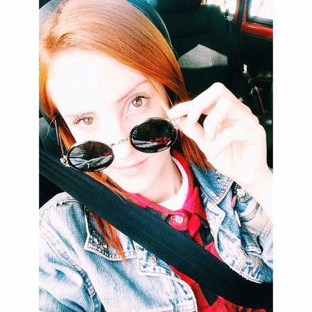 Love Orange Redhead Girl Polaroid Cute So Cool Indie The Beatles Music