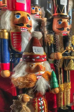 Large Group Of Objects Variation Christmas Christmas Decoration Christmas Market Close-up Christmas Nutcracker Nutcrackersoldier Nutcrackers Tradition