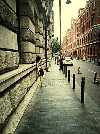 Shanghai Street Snapshoot Afternoon
