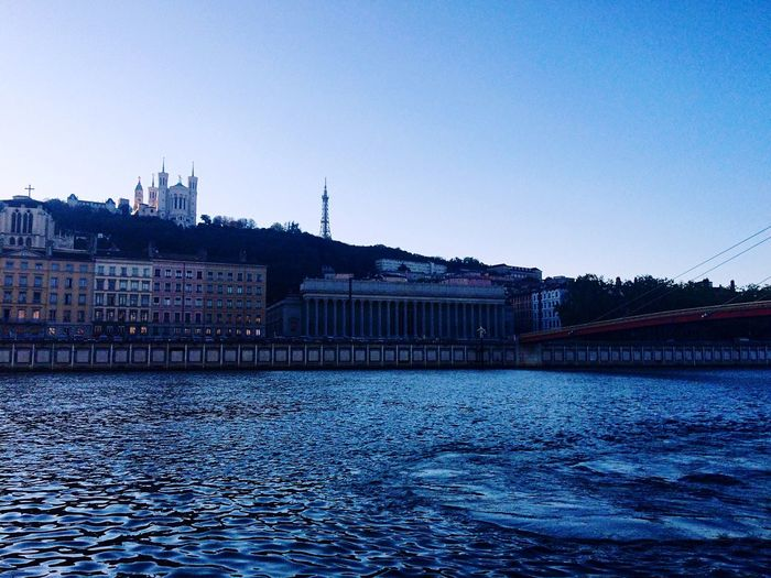 Lyon France Landscape Cityscapes Hanging Out Taking Photos Church Vscocam Blue Sky Traveling