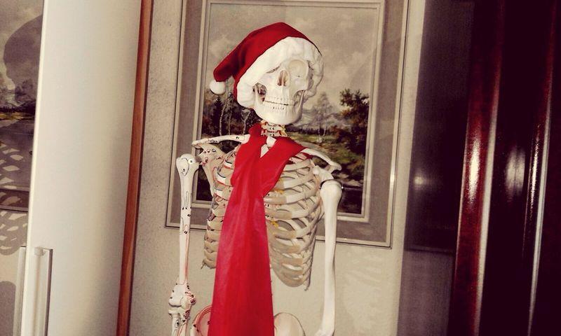Ho Ho Ho Santa is there👀🎅🏼 Santa Claus Weihnachten Christmas Lights