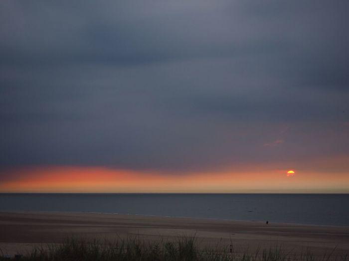 Spiekeroog Romantik Sea Scenics Beach Horizon Over Water Tranquil Scene Beauty In Nature Nature Sunset Sand Outdoors Water
