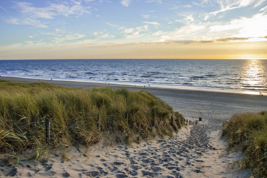 Idyllic Tranquility Tranquil Scene Sky Clouds And Sky Beautiful Scenery You And Me Seite An Seite Scenics Scenery Mit Dir An Meiner Seite! Travel Calm Landscape Day Sand Dune Water Sea Low Tide Marram Grass Sunset Beach Wave Sand Summer Seascape Romantic Sky Atmospheric Mood Coast Moody Sky