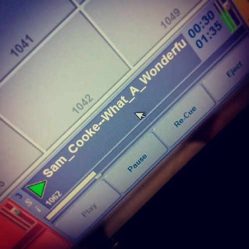 Played this tonight, means a lot ^___^ Samcooke Whatawonderfulworld