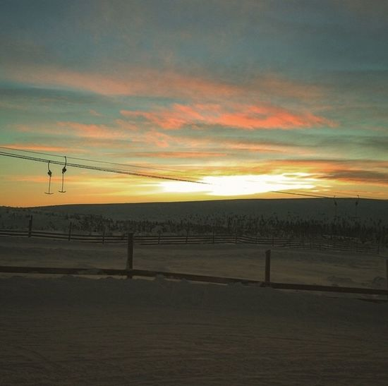 But I dont want to go home?? Sweden Sälen Lindvallen  Skiing Christmas Snow Like Sunset Cold -14o