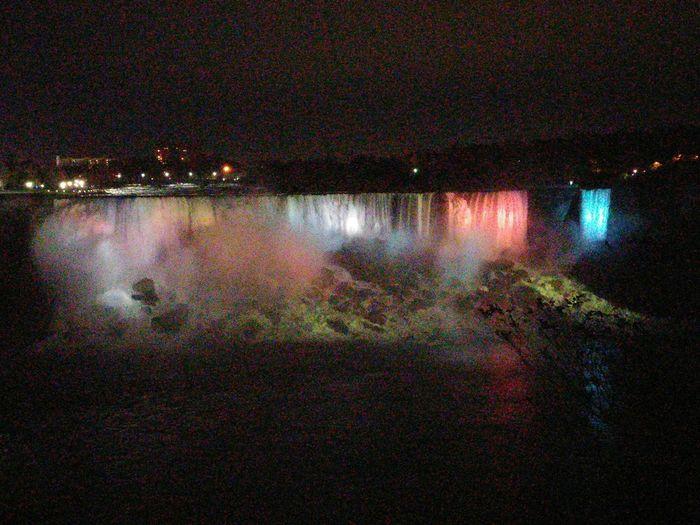 AmericanFalls Thecanadianside Lights Rocks Water Night Pretty Nofilter#noedit