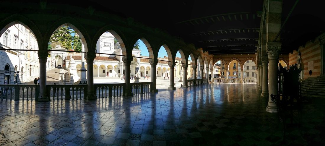 Showcase March Udine Italy Travel Photography Travel Traveling Mobile Photography Art Fineart Backlight Panoramic Views Architecture Renaissance Loggia Monumental Arcades Reflections And Shadows Mobile Editing