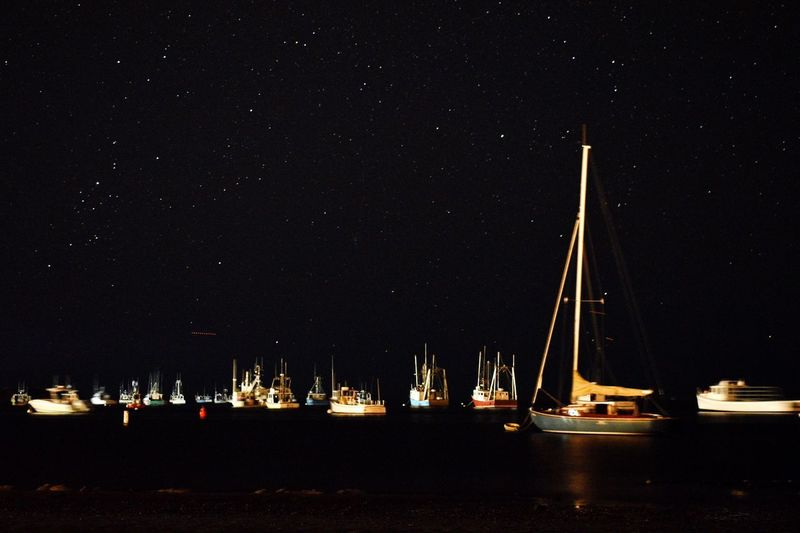 Boat Nightphotography Night Beach Cape Cod Chatham Stars Ocean Sailboat EyeEm Selects EyeEmNewHere
