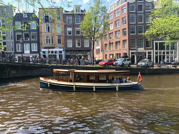 Amsterdam Amsterdam Water Transportation Built Structure Building Exterior Architecture Canal City Day Outdoors Travel Destinations
