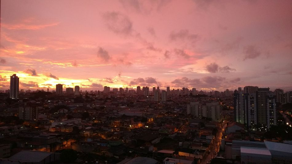 Sunset And Clouds  Sao Paulo - Brazil Colour Your Horizn