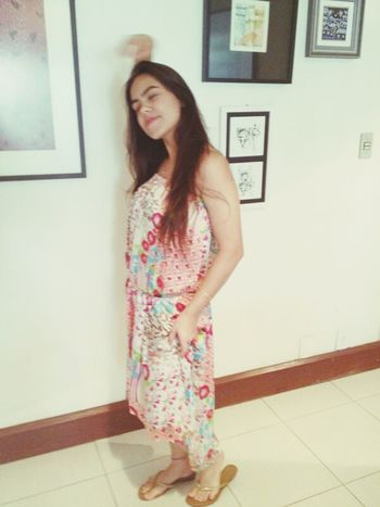 Girl Longdress Free Happiness