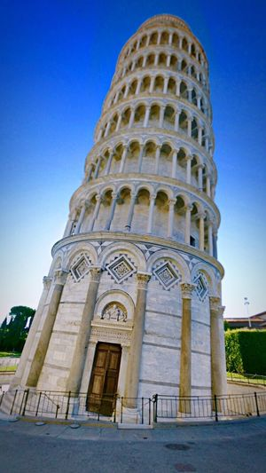 Tour de pise Architecture Built Structure Tourism Travel Destinations Leaning Tower Of Pisa History Culture Italie Façade Famous Place