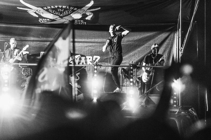 Music Brings Us Together Concert Photography Concert Music Music Festival Black & White Monochrome Kraftklub Kraftklubinschwarz Klaquax@home