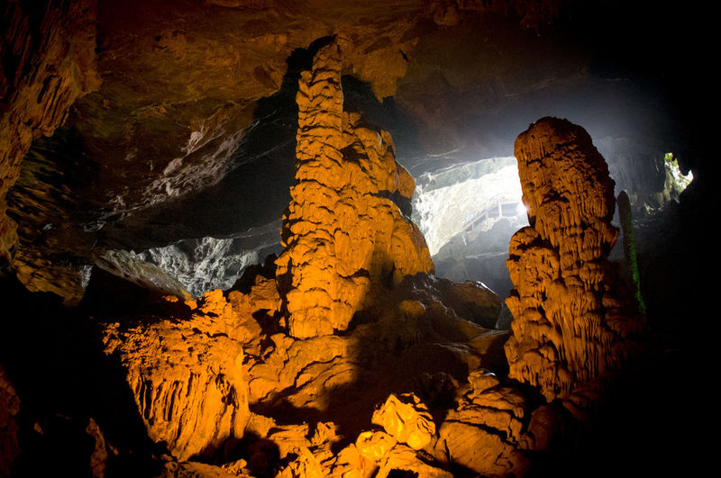 Beauty In Nature Cave Day Geology Indoors  Nature No People Physical Geography Rock Rock - Object Rock Formation Rock Hoodoo Scenics Stalactite  Tranquil Scene Tranquility Travel Destinations